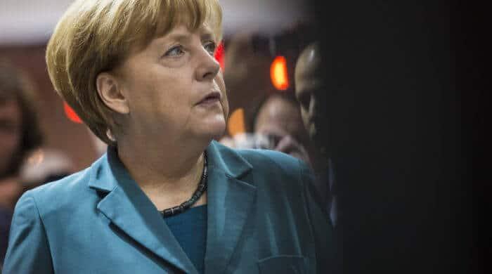 Angela Merkel trifft den Kaiser