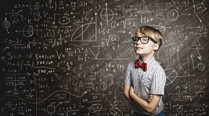 Jungs sind besser in Mathe