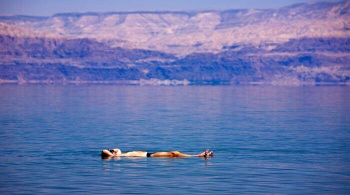 Das tote Meer schrumpft