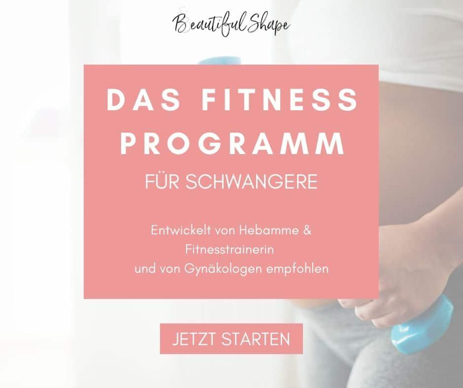 Das Fitness Programm fur Schwangere