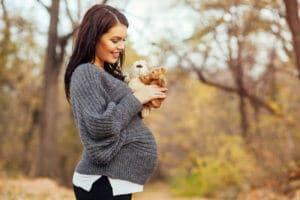 Die zweite Hälfte der Schwangerschaft
