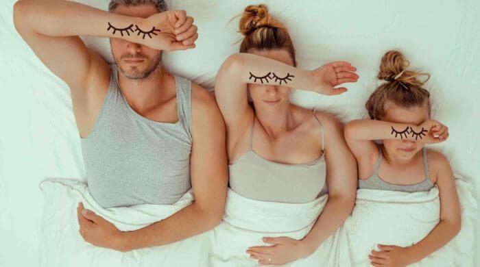 Schlafbedarf im Kinder-Alter