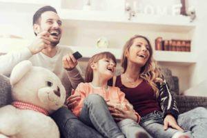 Fernseher im Kinderzimmer