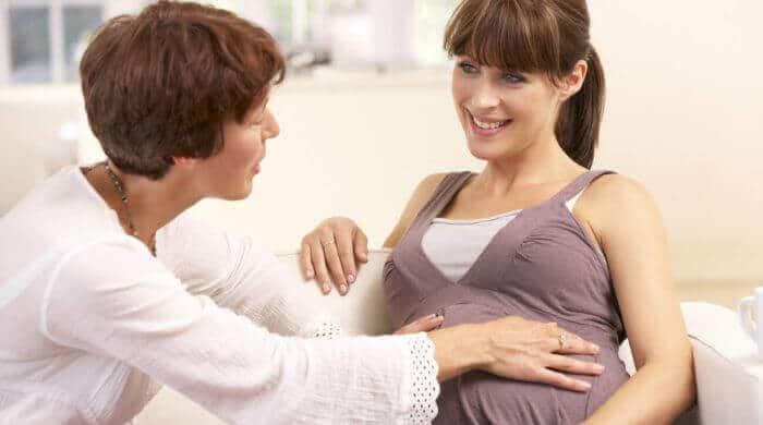 Die Hebamme - Vorsorge und Nachsorge für Schwangere und Kind