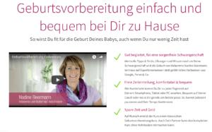 Nadine Beermanns Geburtsvorbereitungskurs