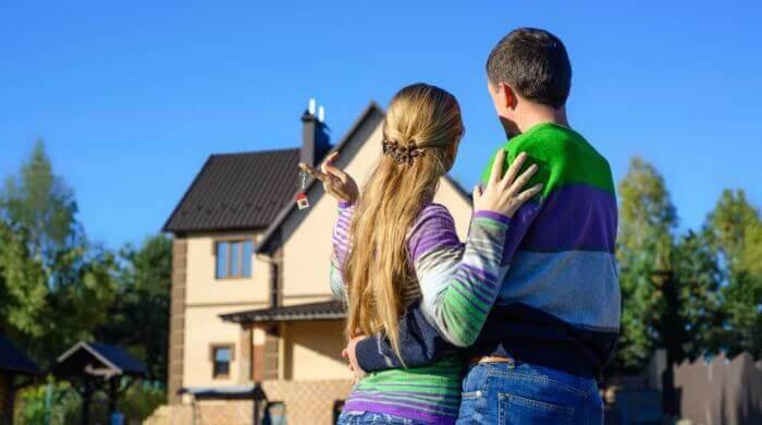 Bei vielen Familien steht das eigene Heim ganz oben auf der Wunschliste