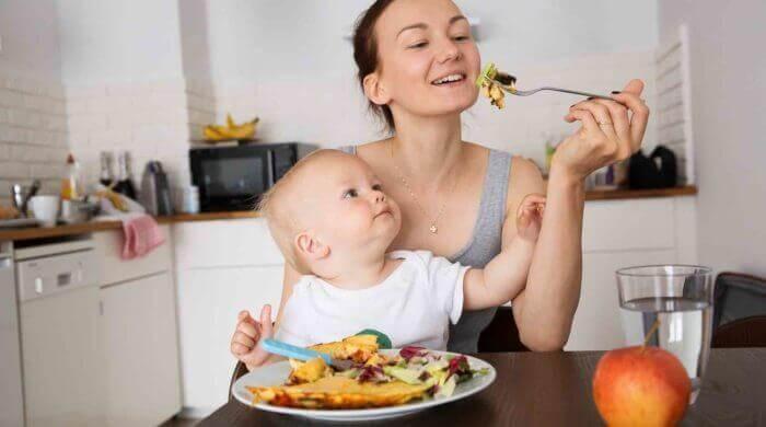 Normaler Gewichtsverlust nach der Schwangerschaft