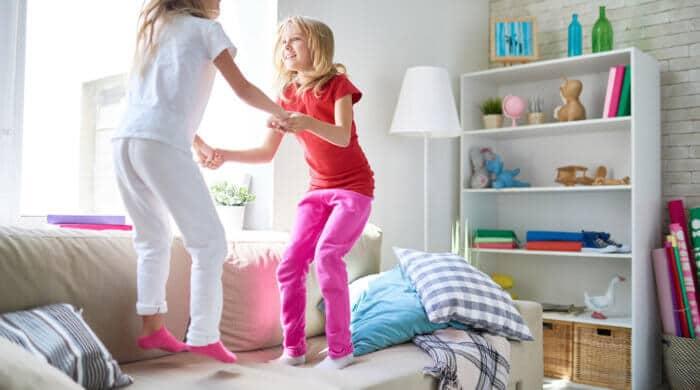 Kinder allein zuhause