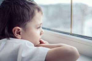 Manche Kinder können nur schlecht alleine bleiben