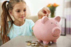 Taschengeld bei Kindern