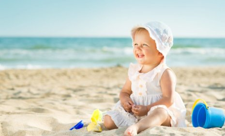 Strandurlaub mit Kind