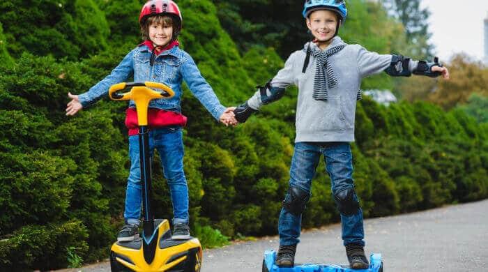 Hoverboard für Kinder – Darauf sollten Eltern achten