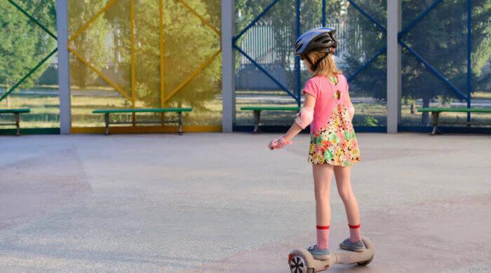 Kinder lieben Hoverboards