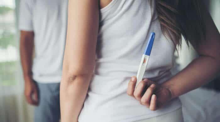 Die Schwangerschaft verkünden