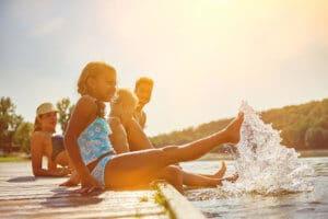 Entspannter Familienurlaub