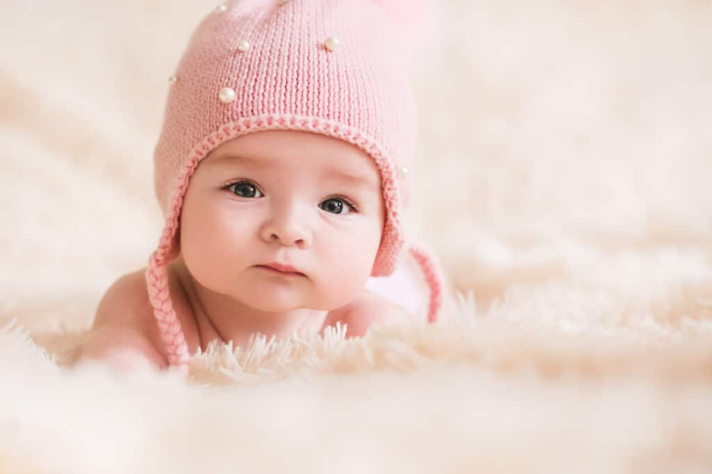 Baby mit 14 Wochen