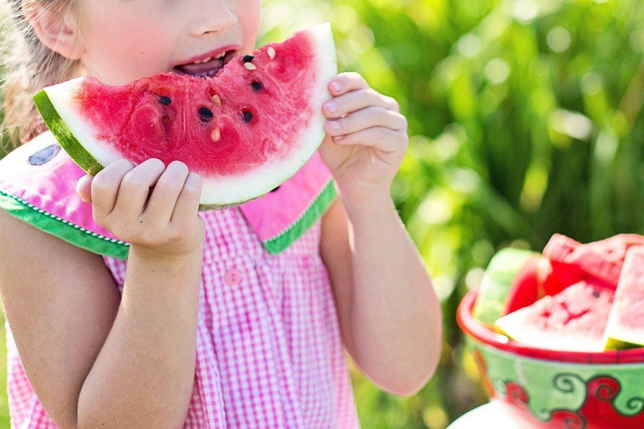 Gesunde und vegetarische Ernährung Kinder