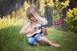 Gitarre Kind