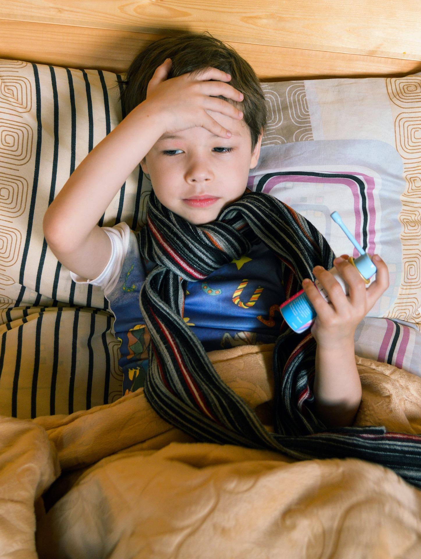 Ein krankes Kind richtig pflegen – Darauf musst Du achten